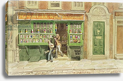 Постер Шарф Джордж (грав) Colourman's Shop, St Martin's Lane, 1829