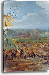 Постер Мартин Жан-Батист The Siege of Besancon in 1674 by the army of Louis XIV