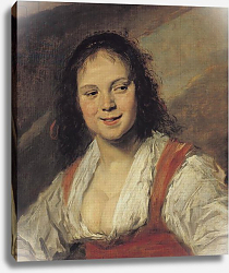 Постер Халс Франс The Gypsy Woman, c.1628-30