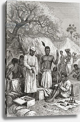 Постер Риоу Эдуард Abdullah Souzi, Jacob Wainright and James Chouma, Dr. David Livingstone's three servants, 1878