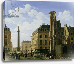 Постер Бау Этьен La Place Vendome, 1808