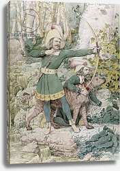 Постер Дэдд Ричард Sketch of Robin Hood, 1852