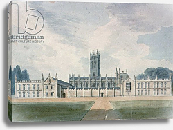 Постер Буклер Джон (акв) Magdalen College, Oxford, 1804