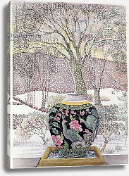 Постер Делеворис Лиллиан Large Ginger Jar in Snowstorm
