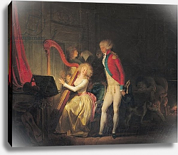 Постер Бойли Луи The Improvised Concert, or The Price of Harmony, 1790