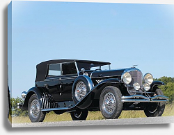 Постер Duesenberg J Convertible Sedan by Murphy '1929