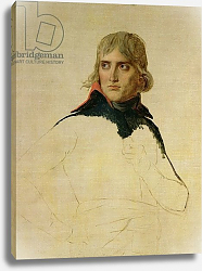 Постер Давид Жак Луи Unfinished portrait of General Bonaparte c.1797-98
