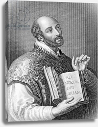 Постер Рубенс (последователи) Ignatius Loyola, engraved by William Holl the younger, c.1830