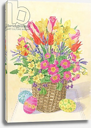 Постер Бентон Линда (совр) Easter Basket, 1996