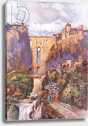 Постер Брюль Луи The Tajo Ronda, from Hutchinson's Picturesque Europe published by Hutchinson & Son, c.1930