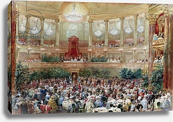 Постер Лами Евген Dinner in the Salle des Spectacles at Versailles, 1854
