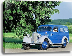Постер Mercedes-Benz 170V Panel Van (W136) '1947
