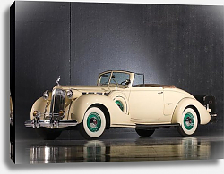 Постер Packard Super Eight Convertible Coupe '1938