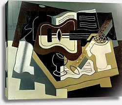 Постер Грис Хуан Guitar and Clarinet, 1920
