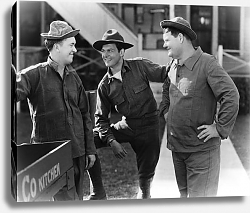 Постер Laurel & Hardy (Pack Up Your Troubles)