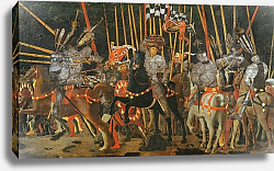 Постер Учелло Паоло The Battle of San Romano in 1432, c.1456 2