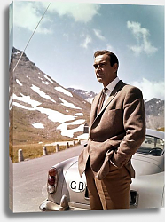 Постер Connery, Sean (Goldfinger) 4