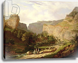 Постер Винсент Джордж A View of Cheddar Gorge