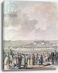 Постер Свебах Жак The Festival of the Federation at the Champ de Mars, 14 July 1790