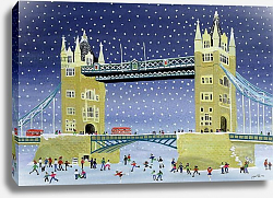 Постер Джоел Джуди Tower Bridge: Skating on Thin Ice