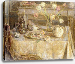 Постер Сиданер Анри The White Tablecloth; La Nappe Blanche,
