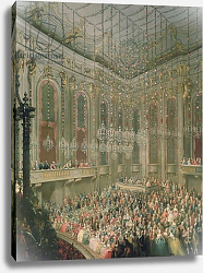 Постер Мейтенс Мартин Concert in the Redoutensaal on the occasion of the wedding 1760