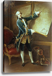 Постер Друаис Франсис The Comte de Vaudreuil, 1758