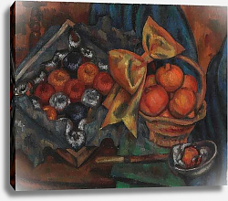 Постер Гертлер Марк Still Life with Pomegranates and Fruit, 1930