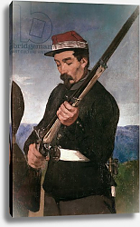 Постер Мане Эдуард (Edouard Manet) Non Commissoned Officer holding his Rifle