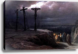 Постер Верещагин Василий Night at Golgotha, 1869