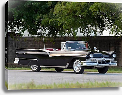 Постер Ford Fairlane 500 Skyliner '1957