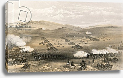 Постер Симпсон Вильям Charge of the Light Cavalry Brigade, 25 October 1854, under Major General the Earl of Cardigan