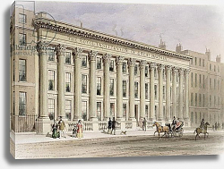 Постер Шепард Томас (акв) The Royal Institution of Great Britain, Albemarle Street, c.1838