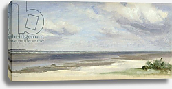 Постер Дженслер Якоб A Beach on the Baltic Sea at Laboe, 1842