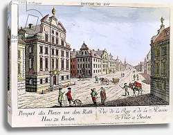 Постер Хаберманн Франц View of the Town Hall, Boston