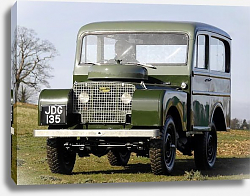 Постер Land Rover Series I 80 Tickford Station Wagon '1948–58