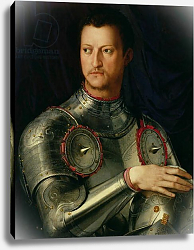 Постер Бронзино Анджело Portrait of Cosimo I de Medici