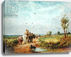 Постер Кокс Давид Going to the Hayfield, 1853