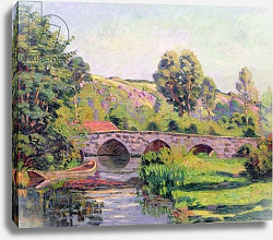 Постер Гуилаумин Арманд The Bridge at Boigneville, c.1894