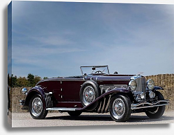 Постер Duesenberg J Convertible Coupe by Murphy '1935