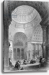 Постер Викерс альфред (грав, москва) Interior of the Kazan Church, engraved by T. Higham