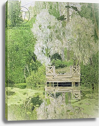 Постер Головин Александр Silver White Willow, 1904