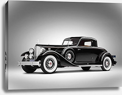 Постер Packard Twelve Custom Coupe by Dietrich (1007) '1933