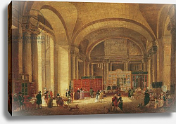 Постер Демаки Пьер Print sellers at the entrance to Louvre, 1791