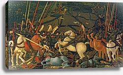 Постер Учелло Паоло The Battle of San Romano in 1432, c.1456