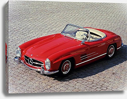 Постер Mercedes-Benz 300SL (R198) '1957–63