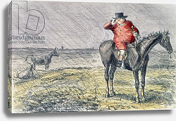 Постер Лич Джон 'Mr. Jorrocks Has a Bye Day', illustration from 'Handley Cross' by Robert Smith Surtees 1854