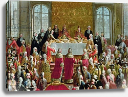 Постер Мейтенс Мартин The Coronation Banquet of Joseph II, Emperor of Germany, 1764