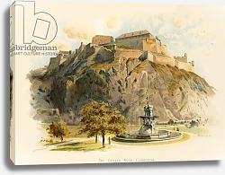 Постер Уилкинсон Чарльз The Castle Rock, Edinburgh