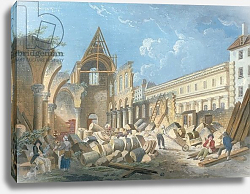 Постер Демаки Пьер Demolition of the Couvent des Cordeliers, c.1802